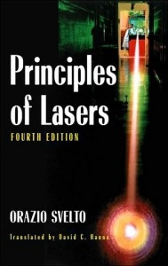 Principles of Lasers-4th edition