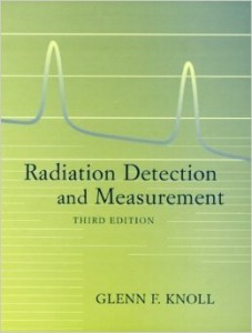 Radiation Detection and Measurement-3rd edition (Knoll)